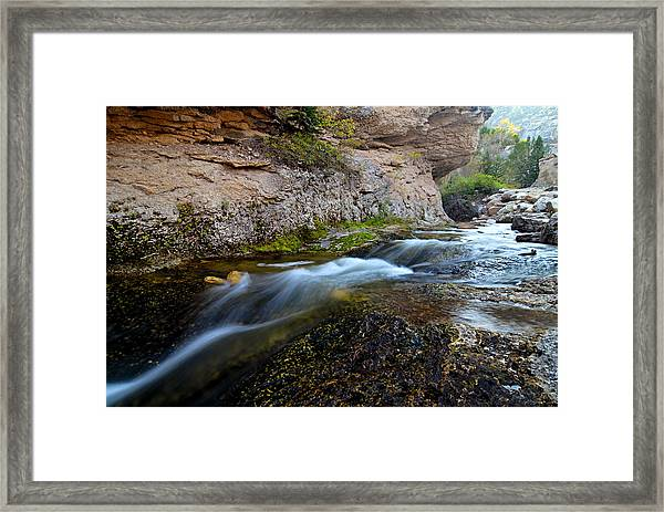 Crazy Woman Creek Framed Print