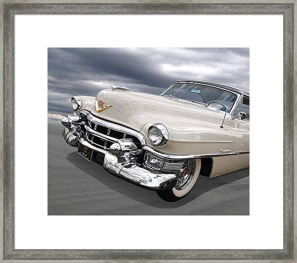 Cream Of The Crop - '53 Cadillac Framed Print