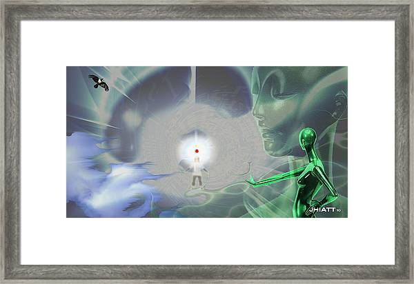 Creation Of A Star Framed Print