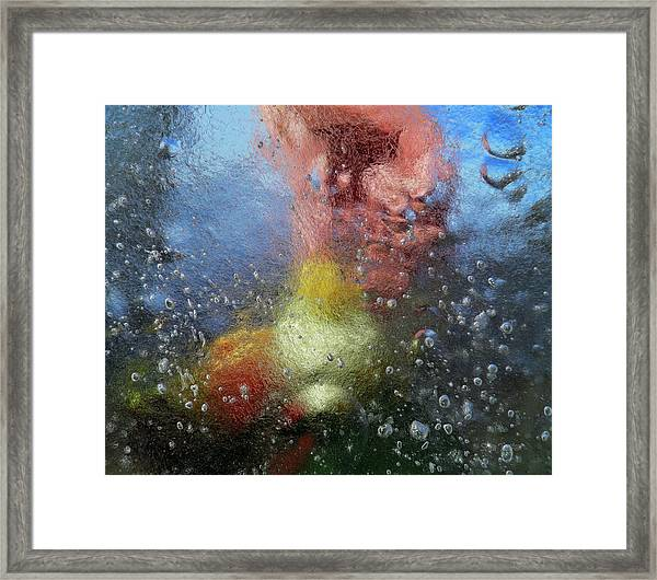 Creative Touch Framed Print