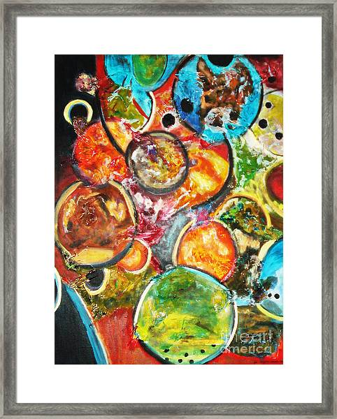 Creative Framed Print