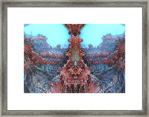 Creature Feature Framed Print