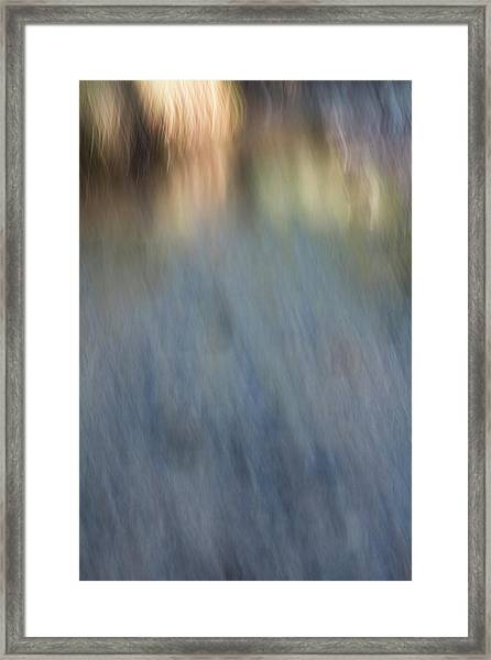 Creek Light Framed Print