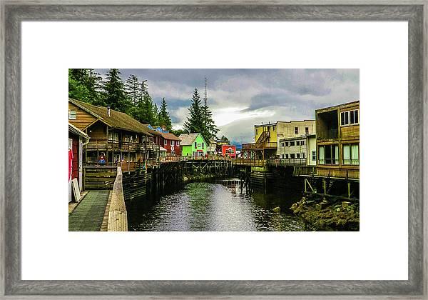 Creek Street 1 Framed Print