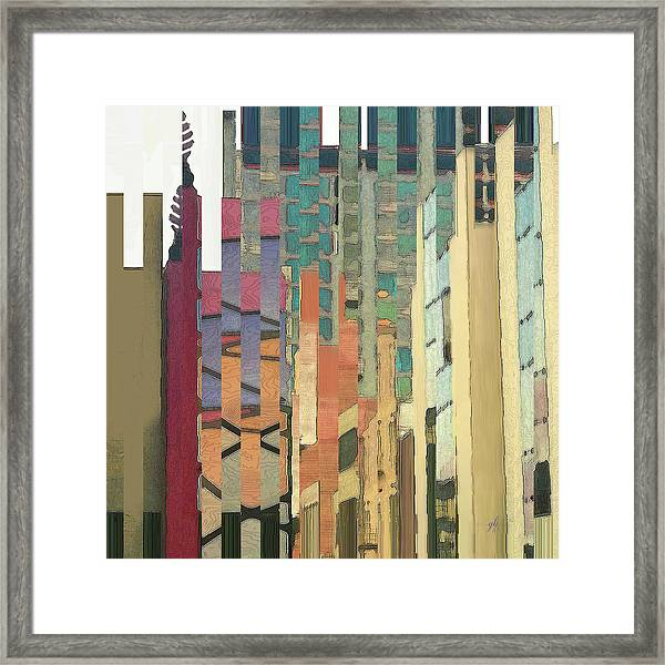 Crenellations Framed Print