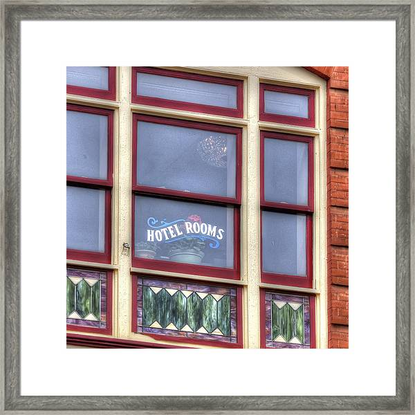 Cripple Creek Hotel Rooms 7880 Framed Print