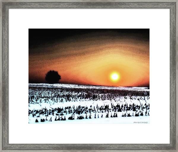 Crops In Framed Print
