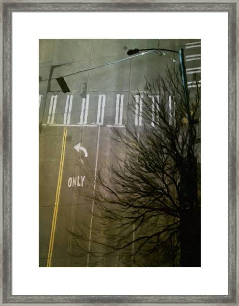 Crossing, From The Ninth Framed Print