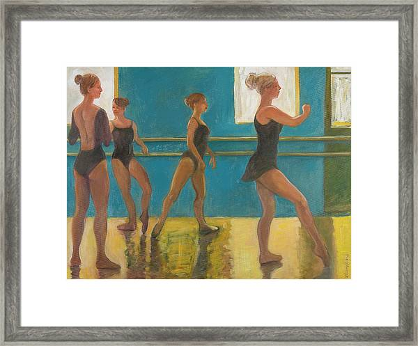 Crossing The Floor Framed Print