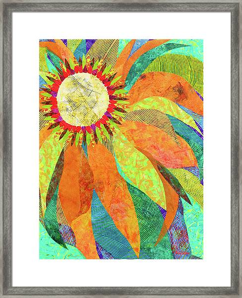 Crown Of Petals Framed Print
