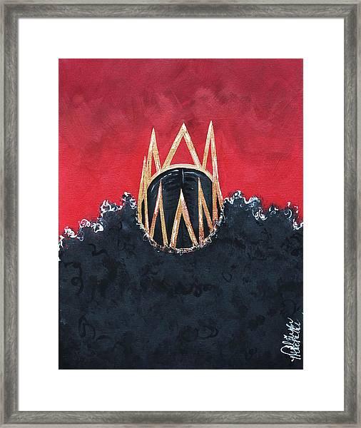 Crowned Royal Framed Print