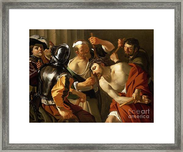 Crowning With Thorns Framed Print