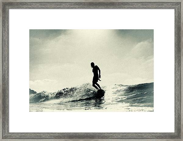 Cruise Control Framed Print