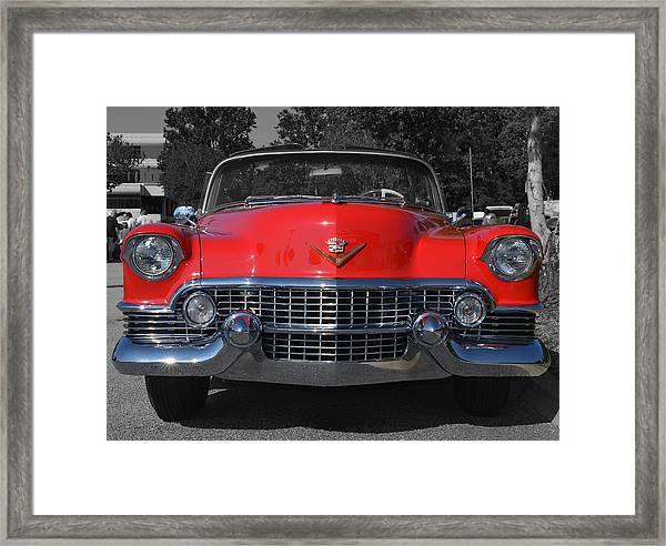 Cruising Americana Framed Print