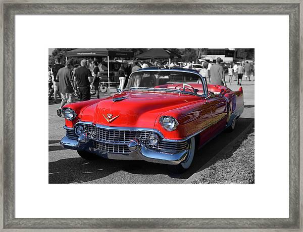 Cruising Home Framed Print
