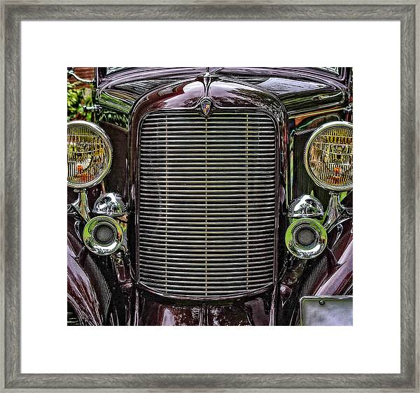 Crusin' With A 32 Desoto Framed Print
