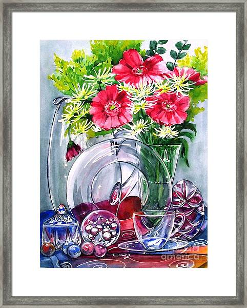 Crystal Clear In Color No 2 Framed Print