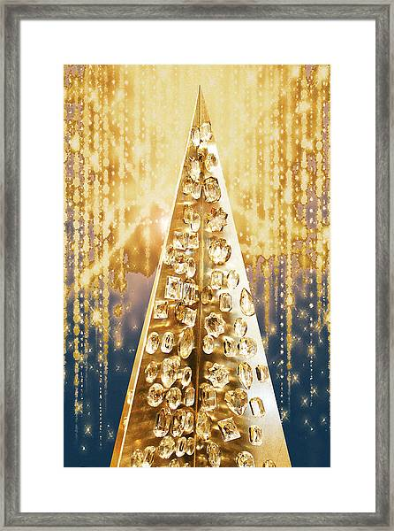 Crystal Tree Framed Print