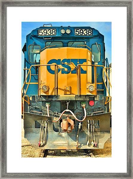 Csx 5938 Framed Print