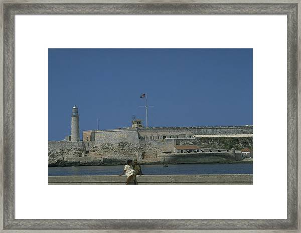 Cuba In The Time Of Castro Framed Print
