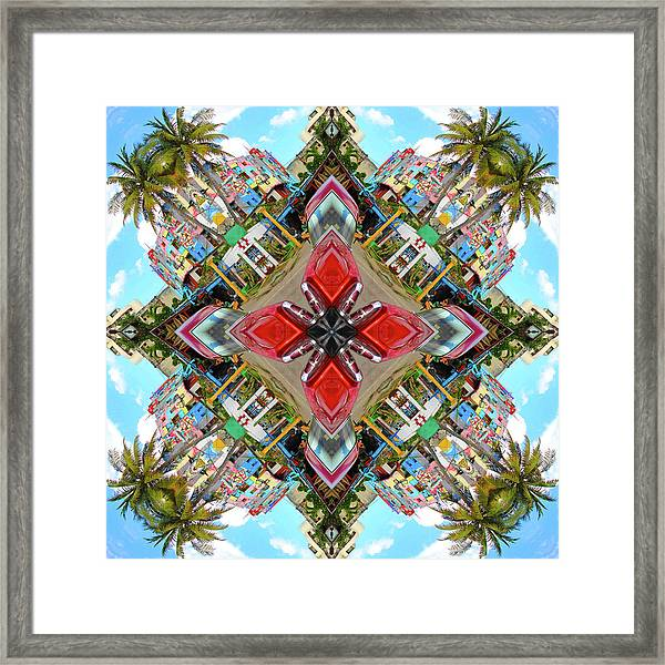 Cuban Kaleidoscope Framed Print
