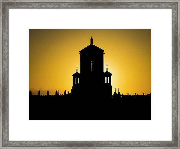 Cuban Landmark. Framed Print