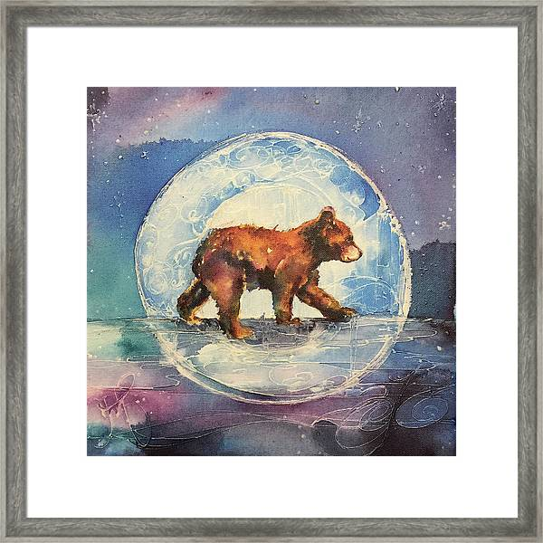 Cubbie Bear Framed Print