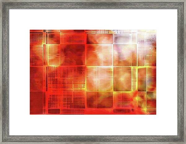 Cubist Framed Print