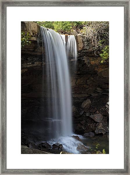 Cucumber Falls 3 Framed Print