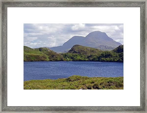 Cul Beag And Meall Dearg Framed Print by Steve Watson