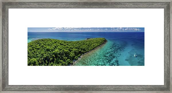 Culebra Anchorage Framed Print