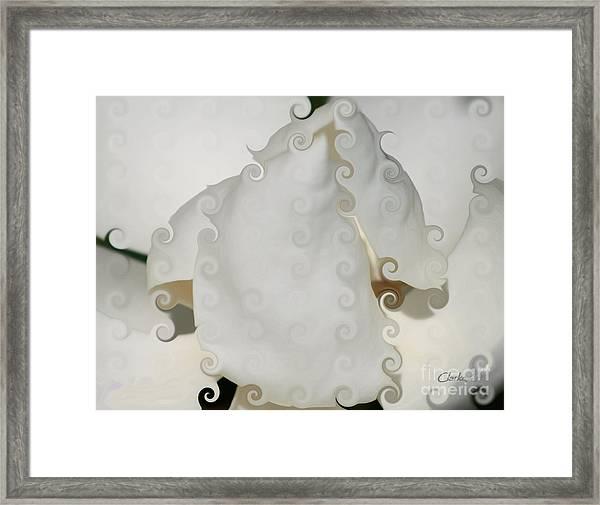 Culicue Magnolia Macro Framed Print