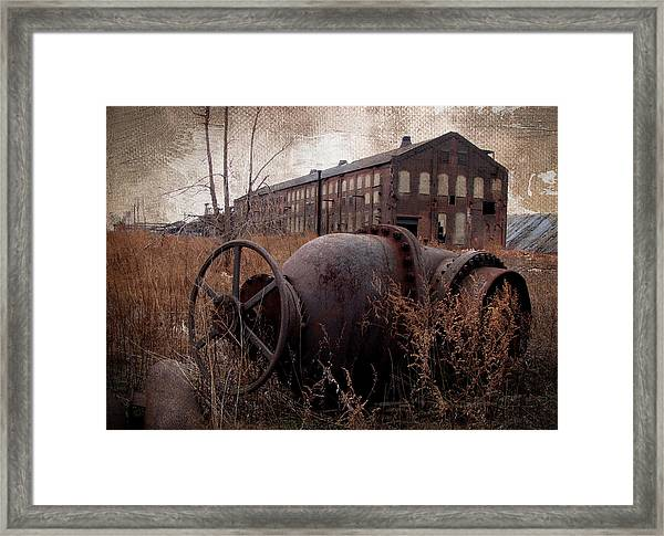 Cultural Artifact II Framed Print