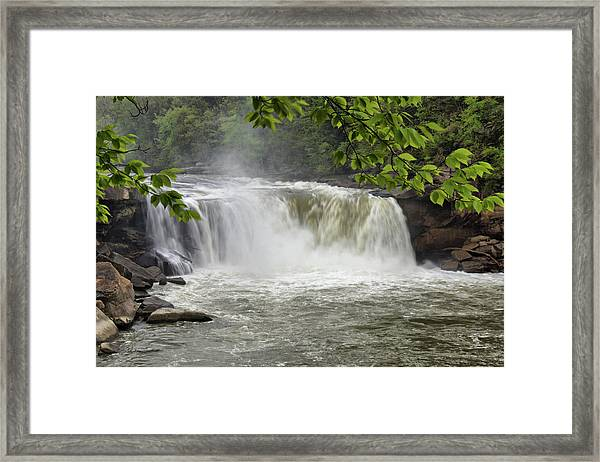 Cumberland Falls Close-up Framed Print