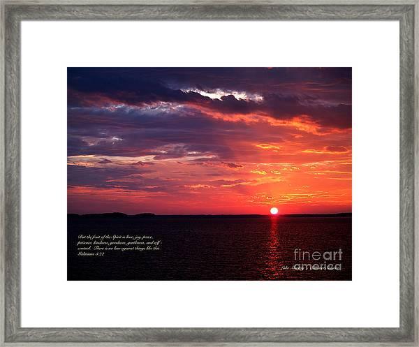 Cumc Solstice Framed Print