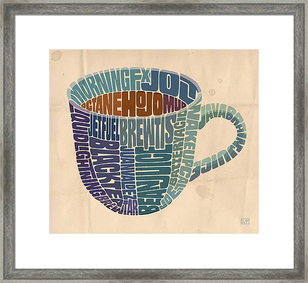 Cup O' Joe Framed Print