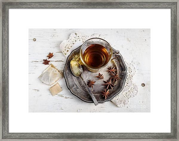 Cup Of Tea Framed Print by Jelena Jovanovic