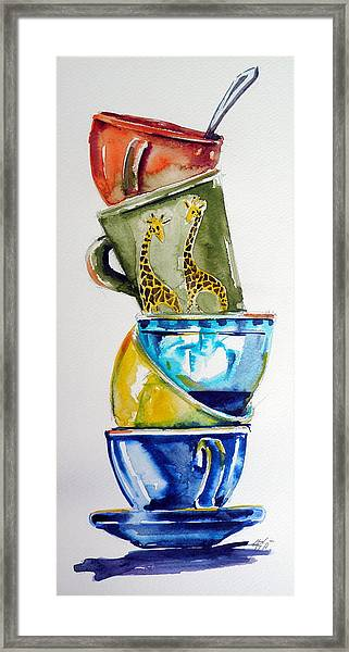Cups Framed Print