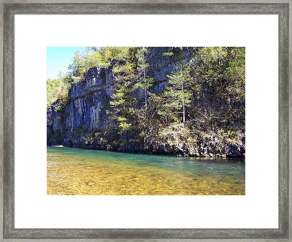 Current River 7 Framed Print