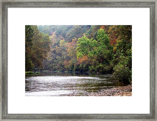 Current River Fall Framed Print
