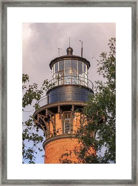 Currituck Beach Lighthouse Close-up Framed Print