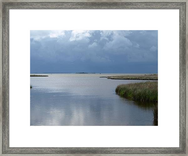 Currituck Sound - 1 Framed Print