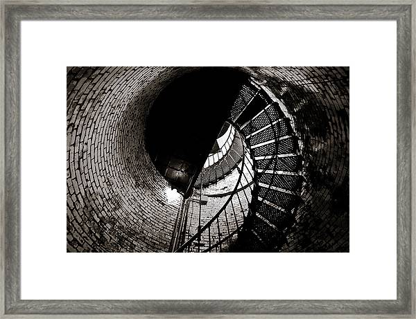 Currituck Spiral II Framed Print