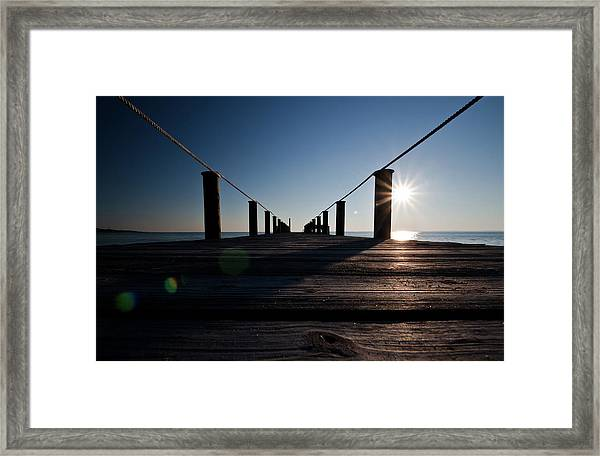 Currituck Sunset Framed Print