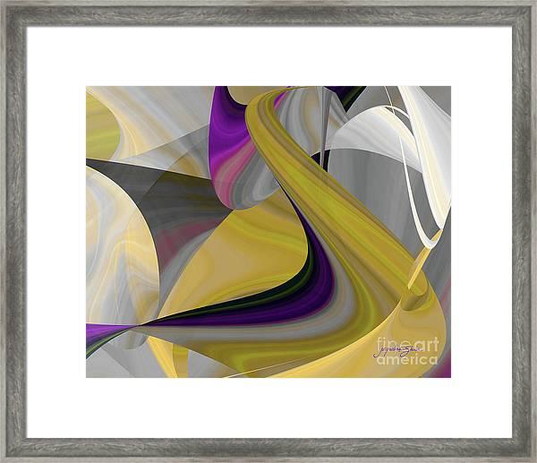 Curvelicious Framed Print
