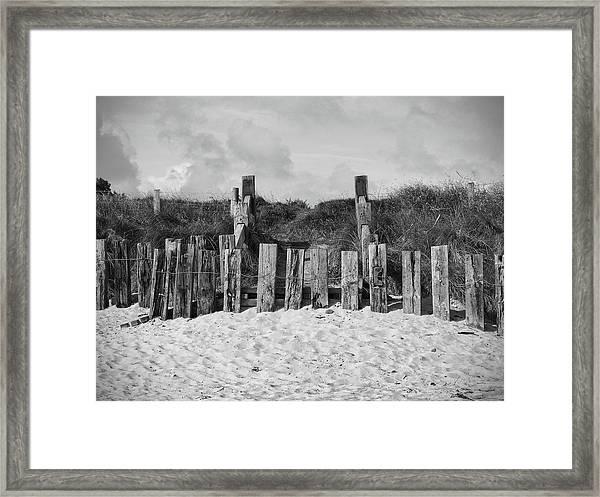 Cushendun Beach Framed Print
