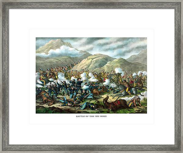 Custer's Last Stand Framed Print