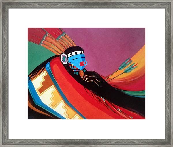 Custom Kachina Framed Print