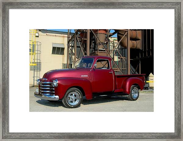 Custom Truck Framed Print