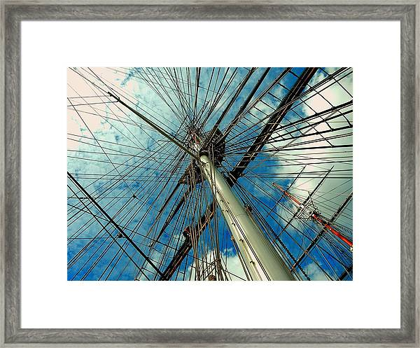 Cutty Sark Framed Print